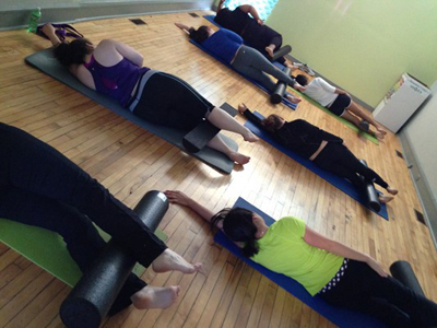Hip Circle Pilates Mat Class