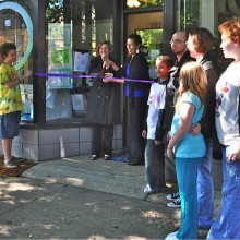 Hip Circle Ribbon Cutting