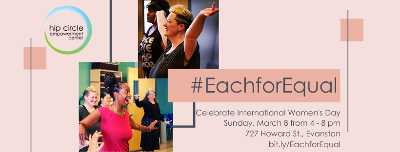 Hip Circle Each for Equal International Women's Day Event March 8 2020